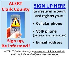 Alert Clark County Sign Up